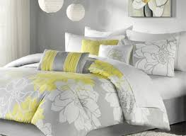 bedding set nice gray and yellow bedding sets around