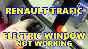 renault trafic electric window not working vauxhall vivaro
