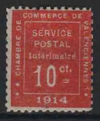 chambre du commerce valenciennes timbre guerre 1 chambre de commerce valenciennes 1914