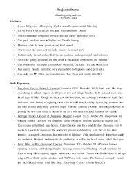 mechanical resume master bike mechanic resume