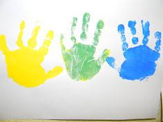 mouse paint story and color mixing activity preschool