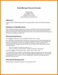Retail Manager Resume Example 10 Retail Resume Sample Forklift Resume