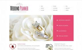 wedding planner website wedding planner website template 40649