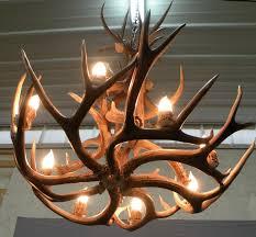 Antlers Lighting Chandelier Lamp U0026 Lighting Real Antler Chandelier Elk Chandelier Deer