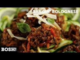 cuisine bosh bangin bolognese vegan bosh