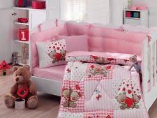 Baby Coverlet Sets Teddy Bear Crib Set Ebay