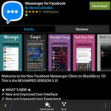 messenger fb apk android messenger not working after update blackberry