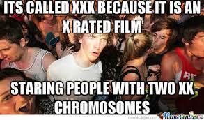 Meme Xx - girls have two xx chromosomes by energybeam meme center