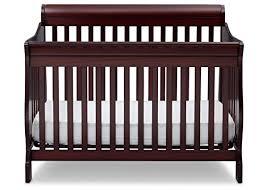 Delta Convertible Crib Children Canton 4 In 1 Convertible Crib Espresso Cherry