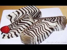 tips membuat bolu zebra cara membuat bolu kukus zebra youtube