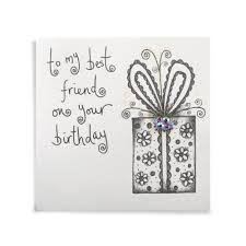 birthday card for best friends to my best friend handmade birthday card 3 99 a great range