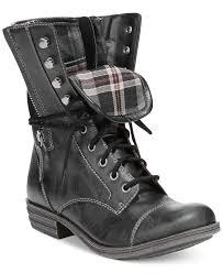 womens boots macys rag deputy combat boots shoes macy s footwear