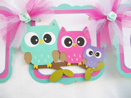 adorable owl baby shower ideas with colorful decorations home