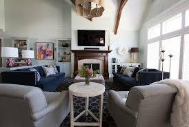 cozy livingroom how to decorate a large living room real simple