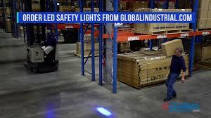 blue warning lights on forklifts global industrial forklift blue led safety warning light 988717 v2b