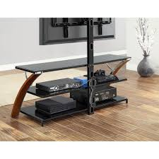 Tv Stand With Mount For 60 Inch Tv Whalen Brown Cherry 3 In 1 Flat Panel Tv Stand For Tvs Up To 65