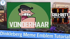 Dinkleberg Meme - black ops 3 emblem tutorial dinkleberg meme timmy s dad youtube