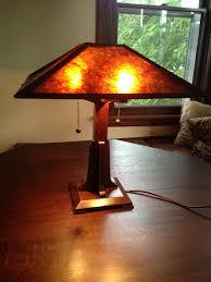 arts u0026 crafts lamp u2014 dcw woodworks