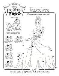 princess frog activity sheets