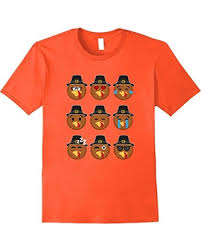 thanksgiving tshirts deal on womens turkey emojis thanksgiving tshirts small orange