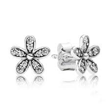 silver stud earrings 2018 dazzling 925 sterling silver stud earrings with clear
