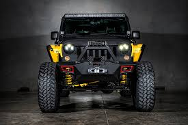 yellow jeep wrangler unlimited jeep wrangler yellow jacket by starwood motors hiconsumption