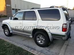 97 toyota 4runner parts parting out 1997 toyota 4 runner stock 3132or tls auto recycling