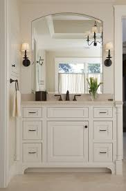 Oil Rubbed Bronze Bathroom Mirror by Basement Bathroom Oil Rubbed Bronze Fixtures And Sconces Next To