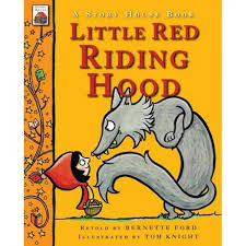 story house book red riding hood hb