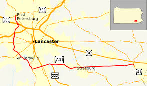 Lancaster Pennsylvania Map by Pennsylvania Route 741 Wikipedia