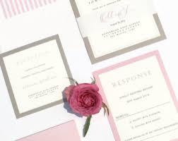 Monogram Wedding Invitations Monogram Invitation Etsy