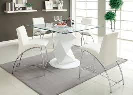 marvelous glass counter height table sets amb furniture design