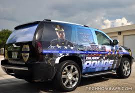 police truck police car wrap technosigns orlandotechnosigns orlando