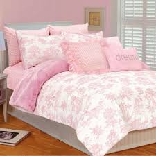 Shabby Chic White Comforter by Thro Thro Toile Micro Plush Comforter Set In Pink White