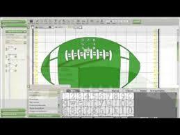 Cricut Craft Room Software - cricut craft room make cute football vinyl m4v youtube