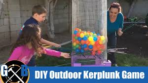 make a diy outdoor family fun kerplunk lawn game how to youtube