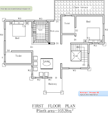 home design square foot house plans kerala plan and elevation sq