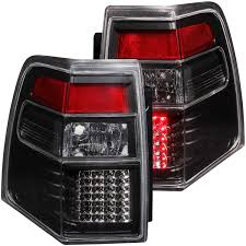 anzo usa ford expedition 07 16 l e d tail lights black l e d