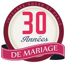 30 ans mariage 30 ans de mariage noces de perle symbole idées cadeaux