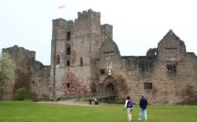 Historical Castles by Ludlow Castle