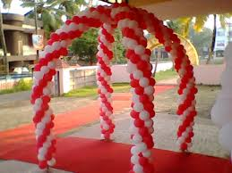 balloons decoration karukatharayil events caterings