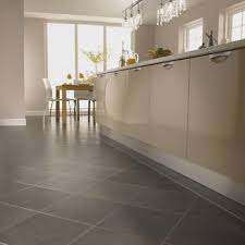 kitchen floors ideas kitchen flooring shell tile best for leather look brown