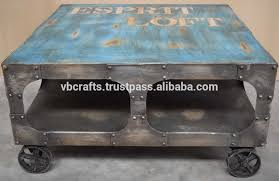 Vintage Coffee Table With Wheels Antique Iron Wheels Antique Iron Wheels Suppliers And