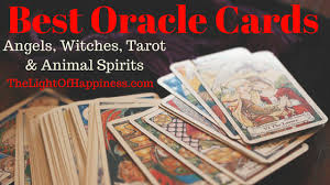 best cards best oracle cards of 2018 the light of happiness