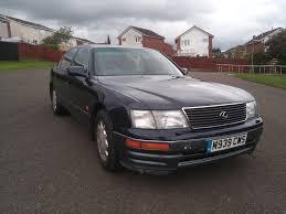 lexus service glasgow 1995 lexus ls400 mot apr18 950 glasgow retro rides