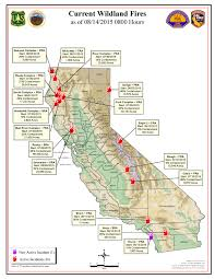 Fresno Ca Zip Code Map by Forest Fires In California Map California Map