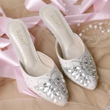 wedding shoes jogja sandal selop farfalla silver 728000 36 42 sku sl006 kategori sepatu sepatu lukis sandal stiletto high heels wedding 2 jpg