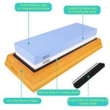 best whetstone for kitchen knives premium knife sharpening kit 2 side 1000 6000 grit