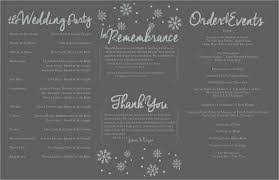 tri fold wedding program templates 19 tri fold wedding program paper commonpence co tri fold