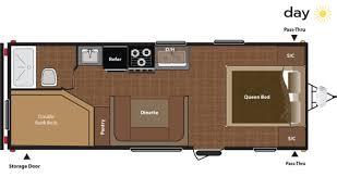 Travel Bunk Beds 24 U0027 Travel Trailer Rental Access Rv Rental